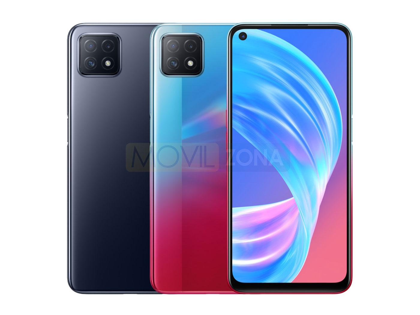 OPPO A73 5G colores