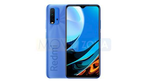 redmi 9 Power diseño azul