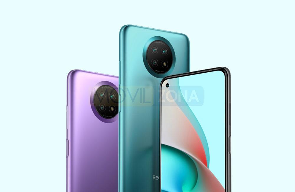 Redmi Note 9 5G colores