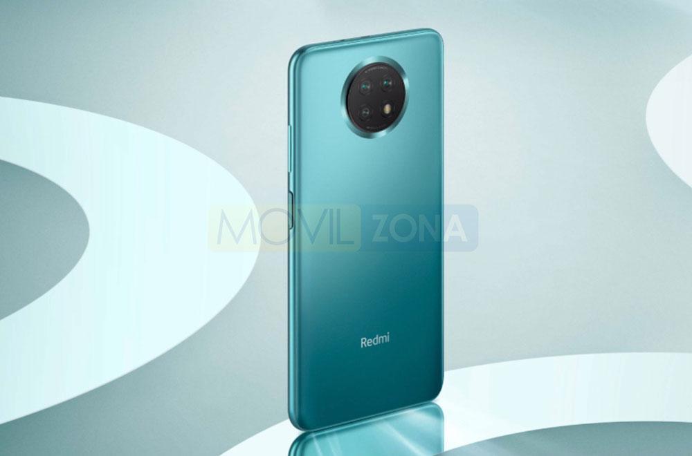 Redmi Note 9 5G azul
