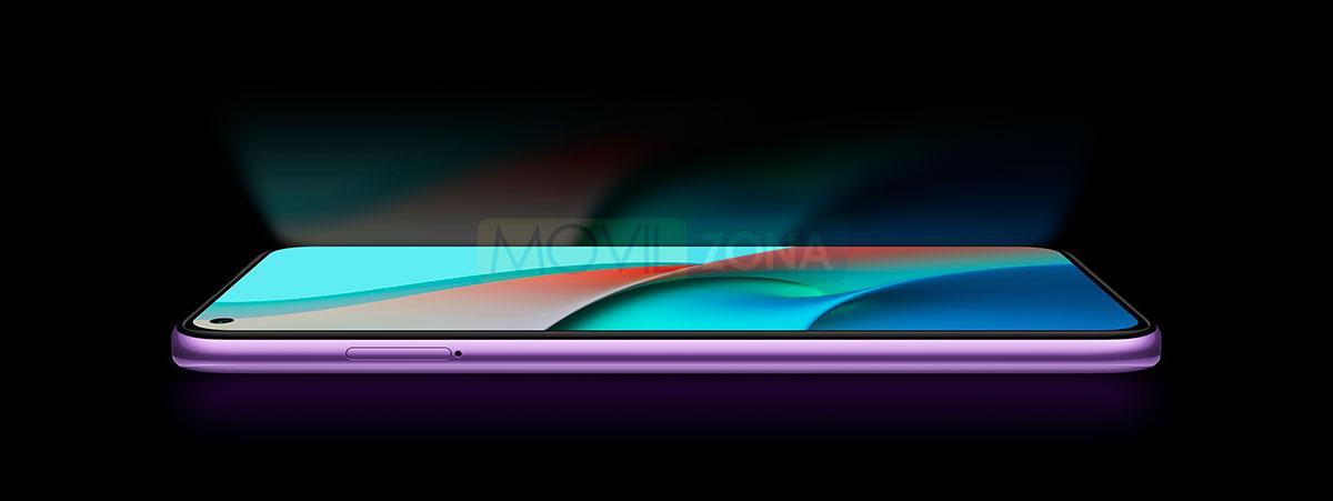 Redmi Note 9 5G pantalla