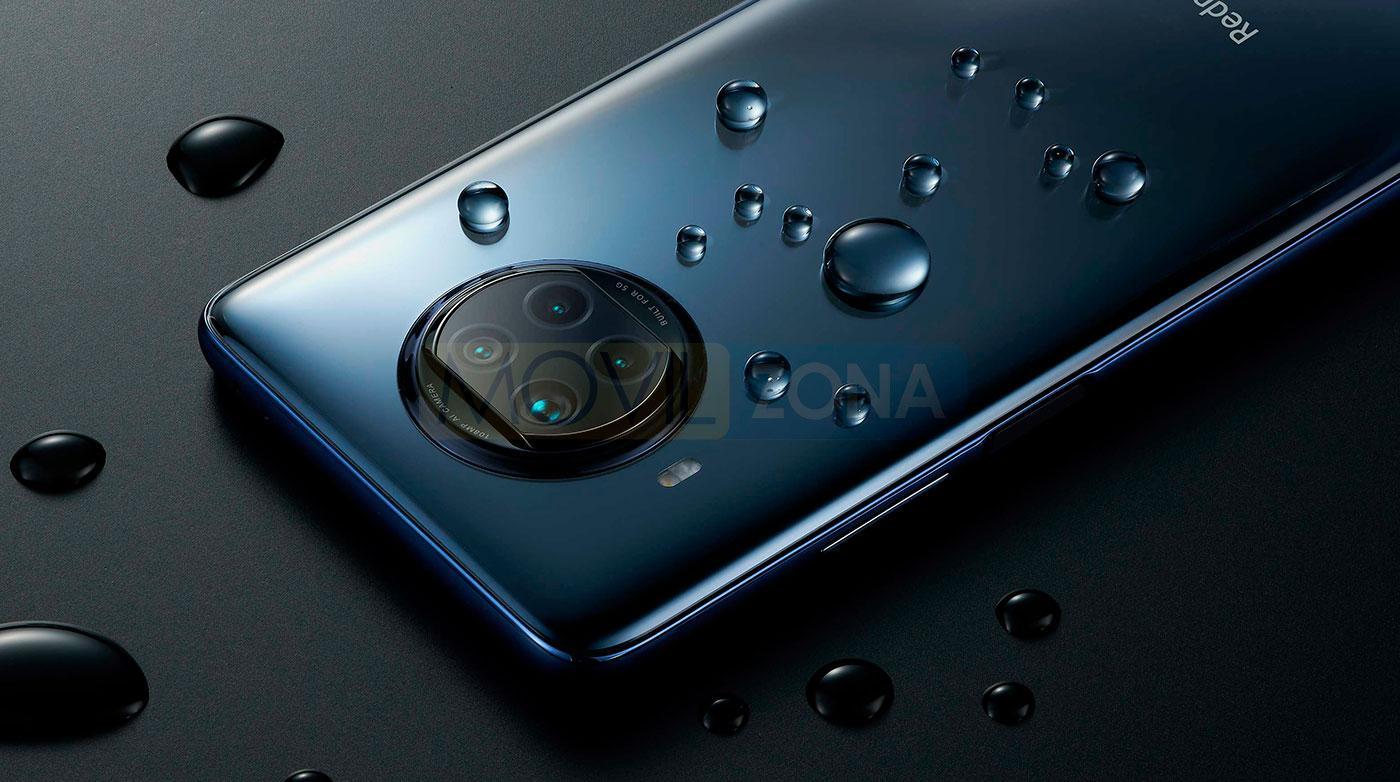 Redmi Note 9 Pro 5G mojado