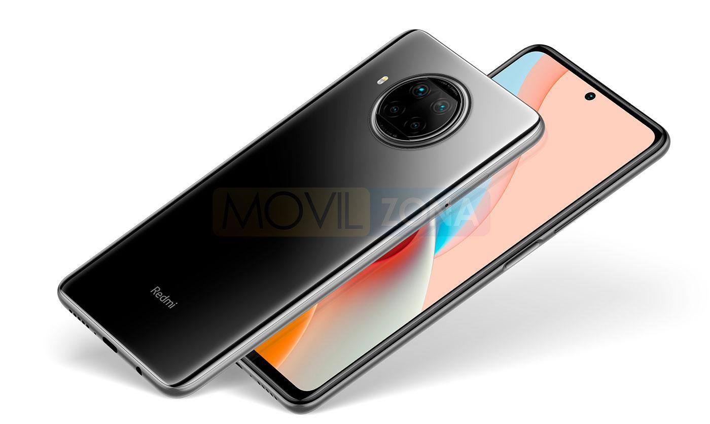 Redmi Note 9 Pro 5G negro