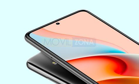 Redmi Note 9 Pro 5G agujero pantalla