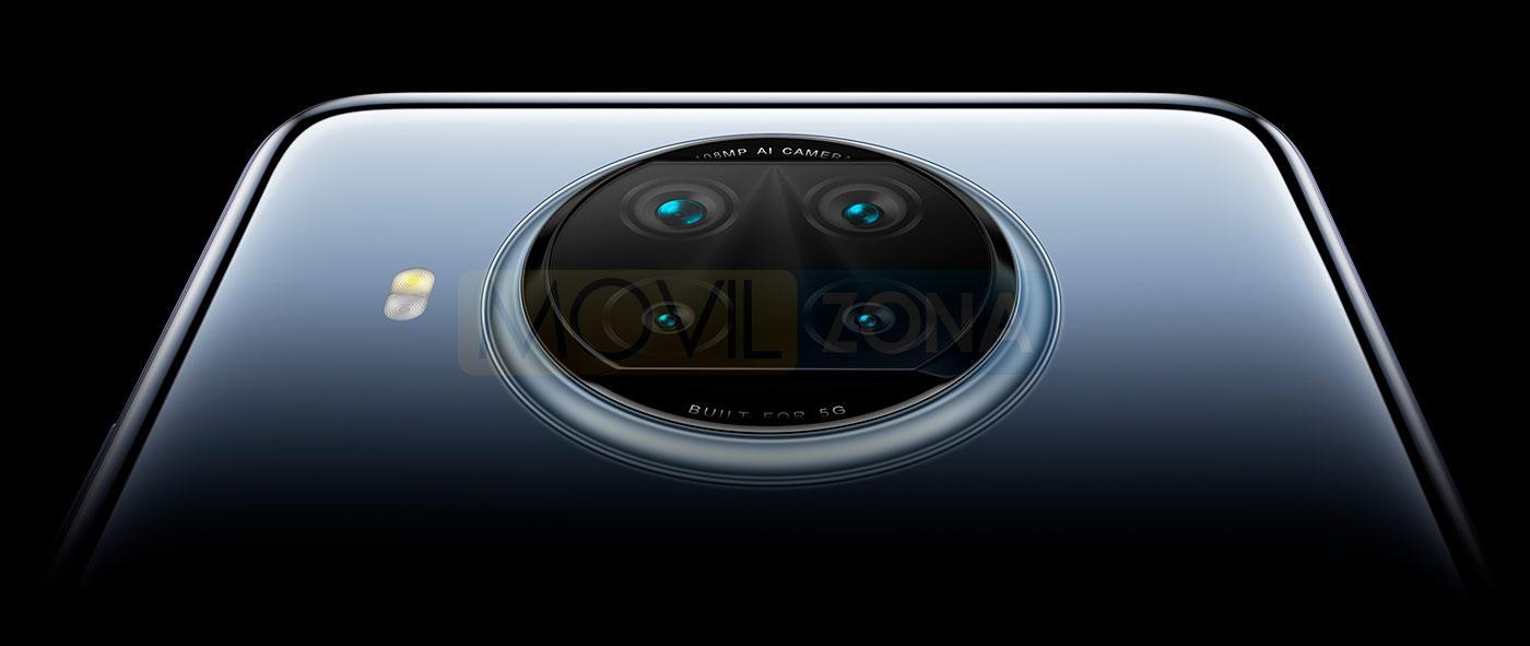 Redmi Note 9 Pro 5G camara