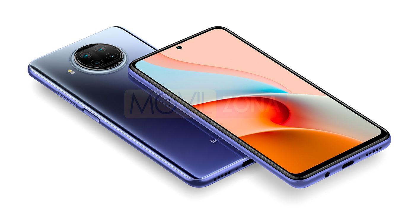 Redmi Note 9 Pro 5G azul