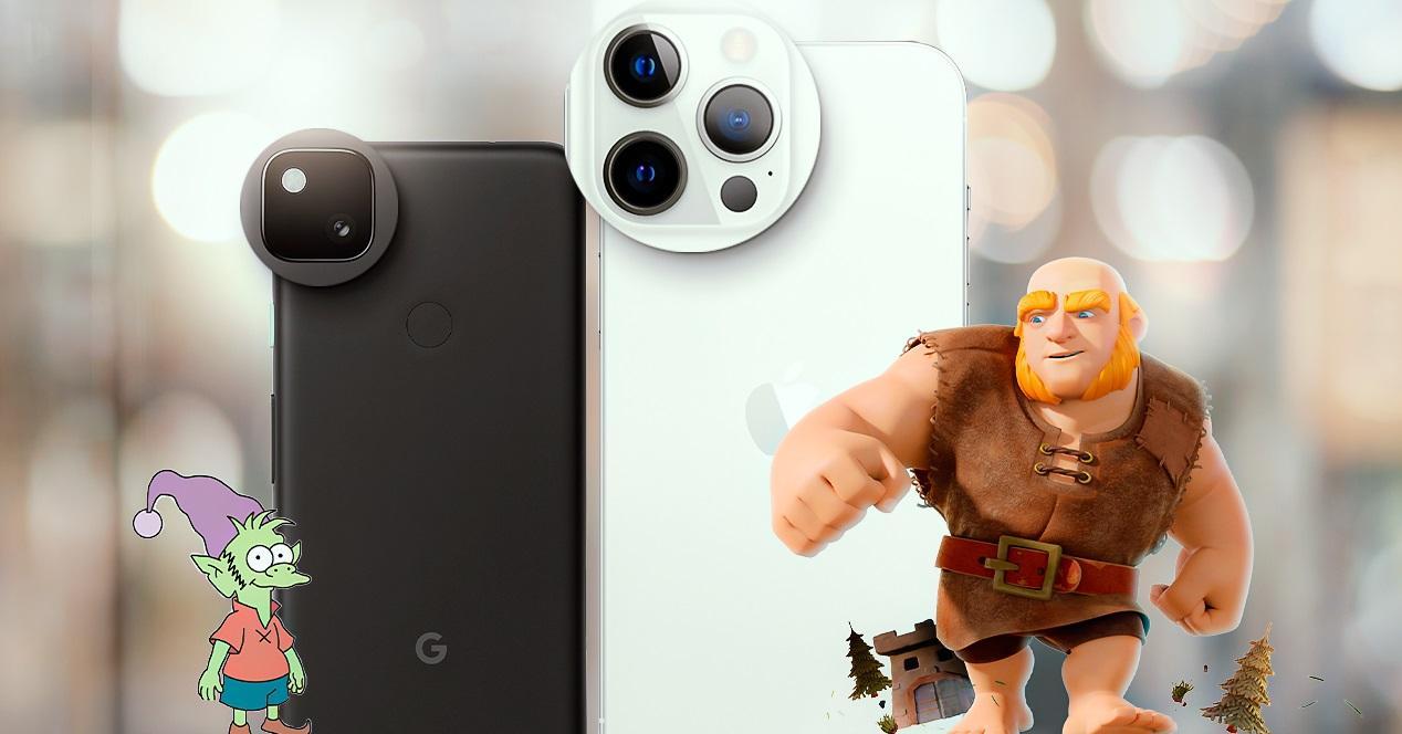 batalla iphone pixel