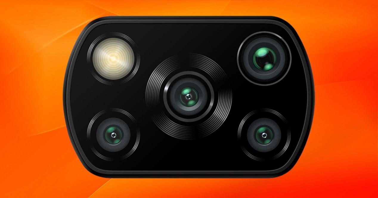 cámara del poco x3 nfc