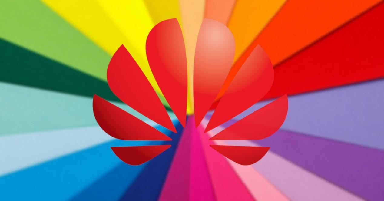 colores y logo de huawei