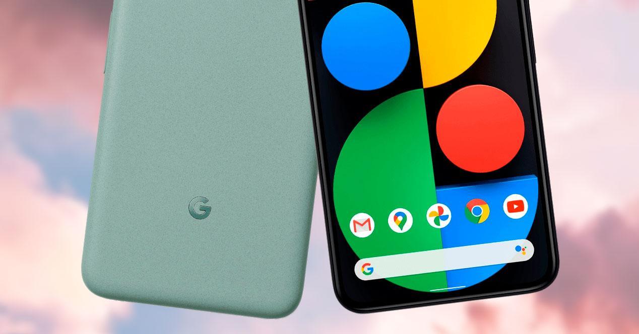 google pixel trasera frontal
