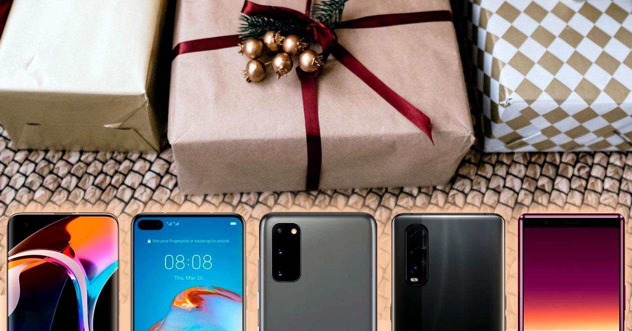 moviles gama alta regalar navidad