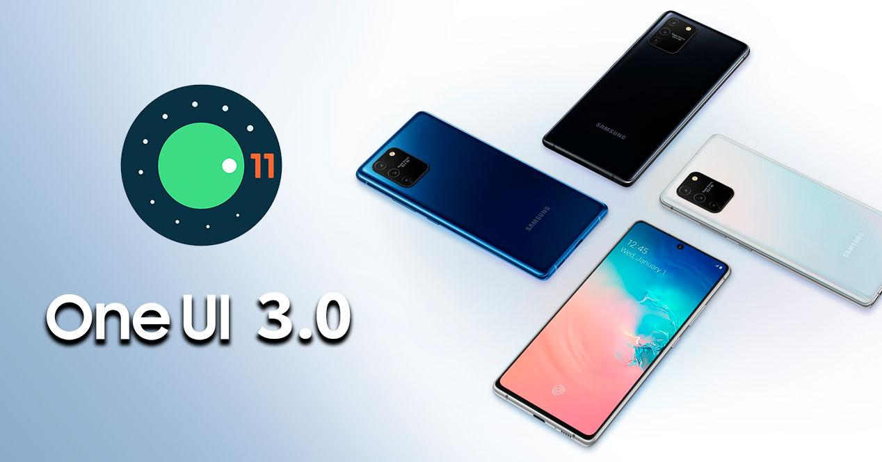 one ui 3.0 android 11 Samsung galaxy s10 lite