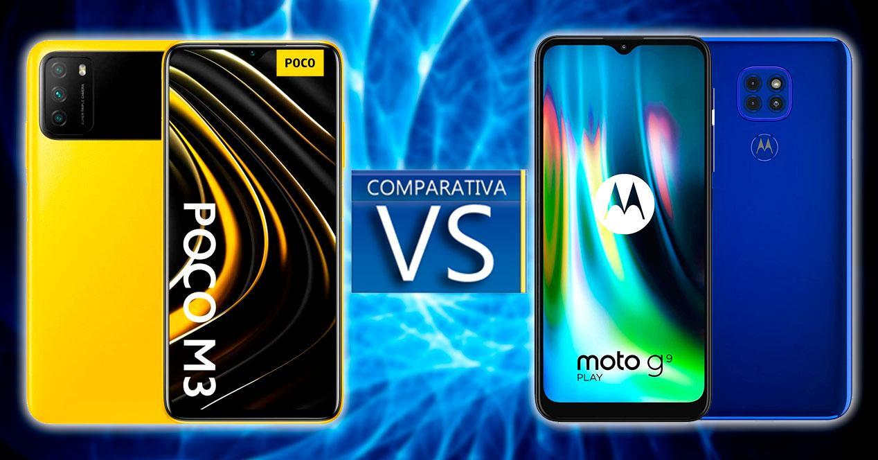 poco m3 vs moto g9 play