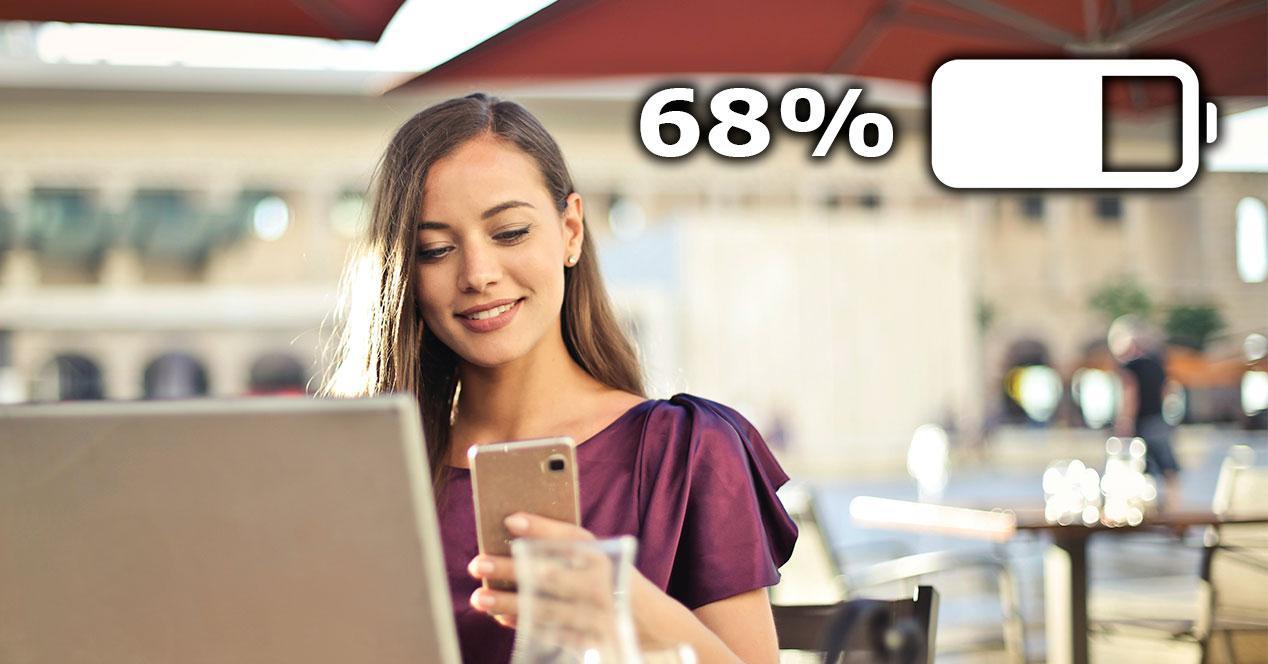 porcentaje bateria movil