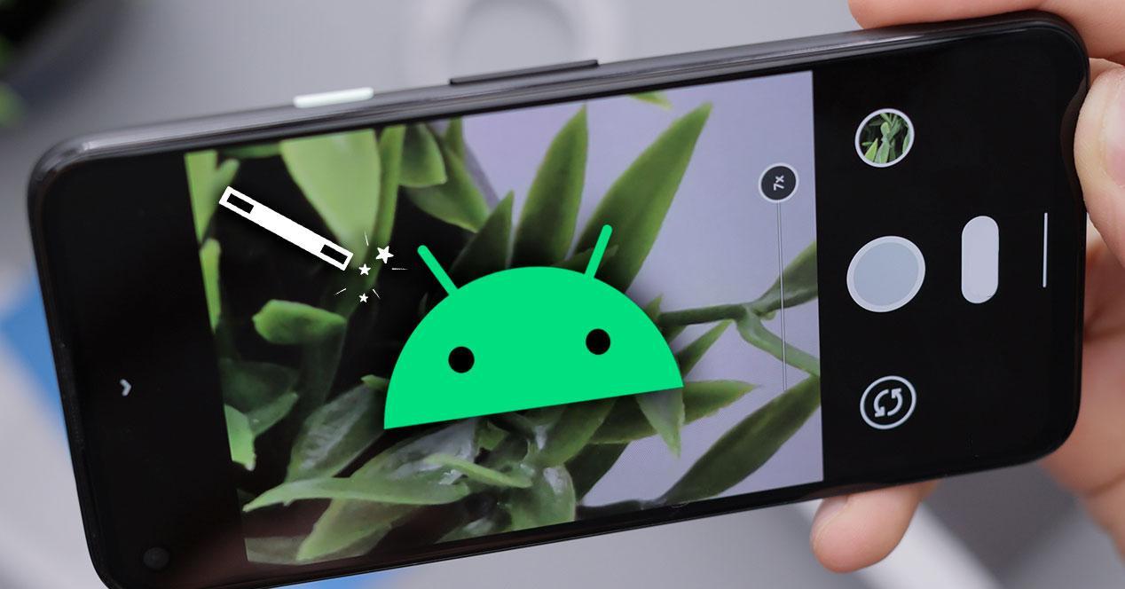 resolución cámara fotos android