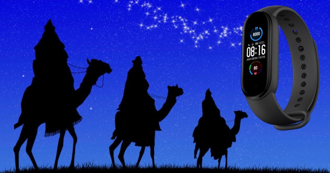 reyes magos y mi band 5