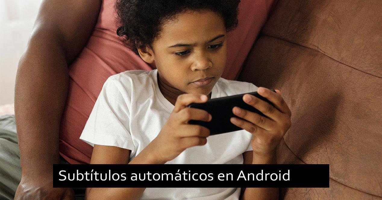 subtítulos automáticos movil android