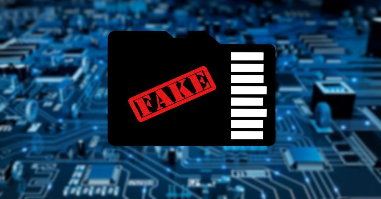 tarjeta microsd falsa