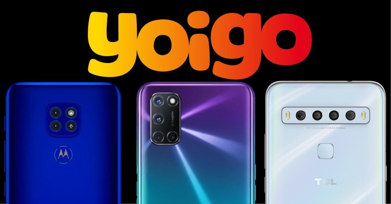 yoigo móviles gratis diciembre 2020