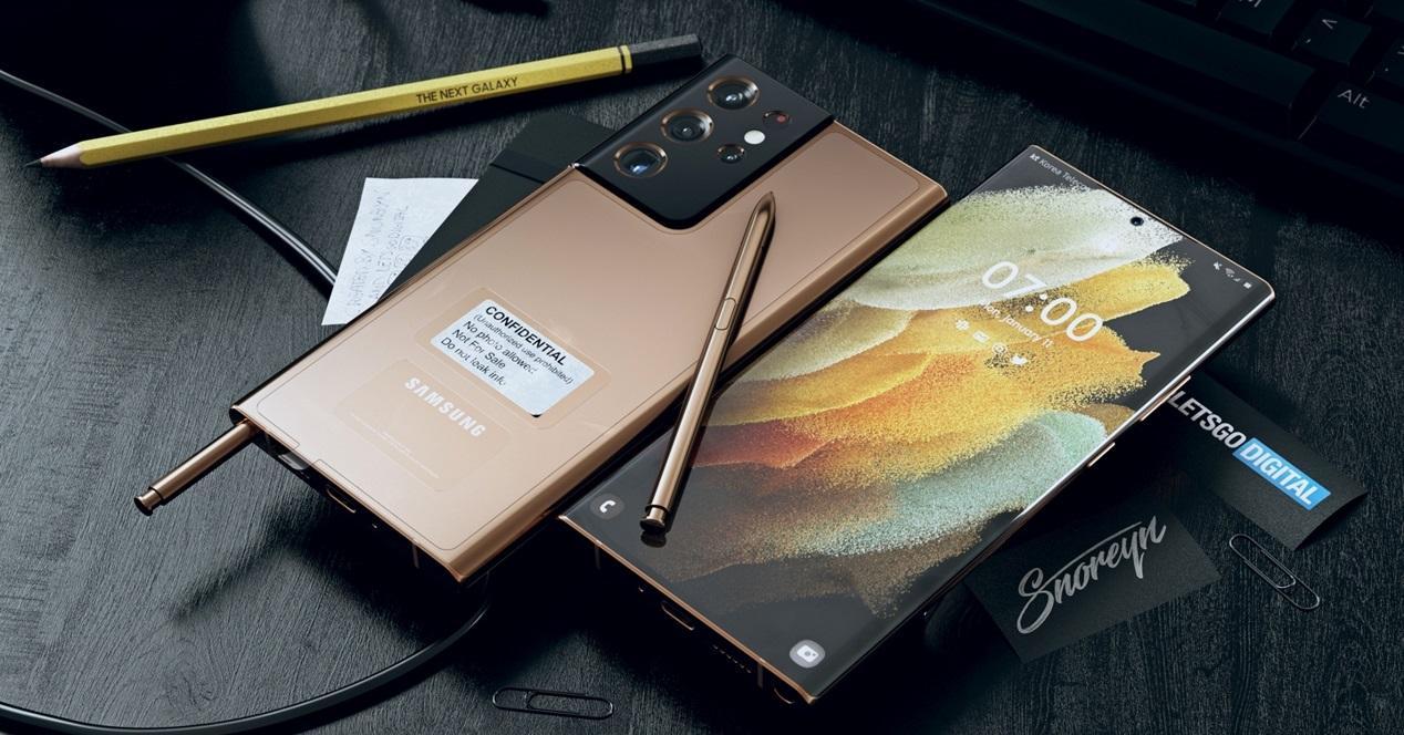 Galaxy S21 Ultra LetsGoDigital