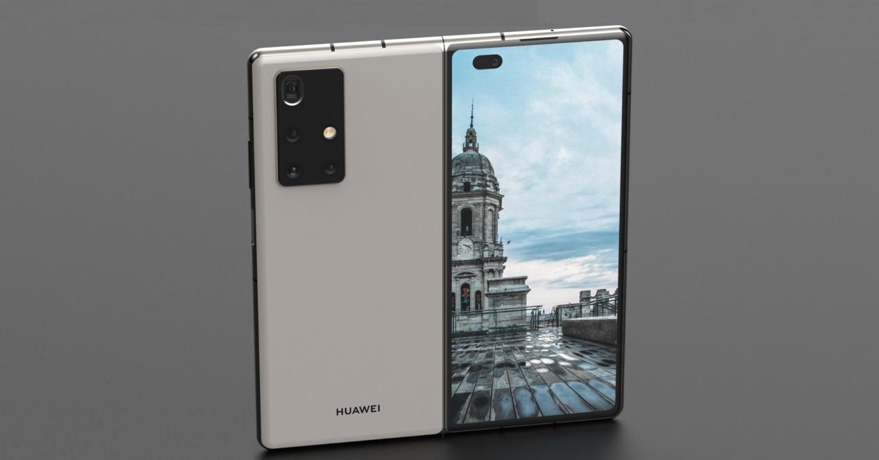 Huawei Mate X2 concepto