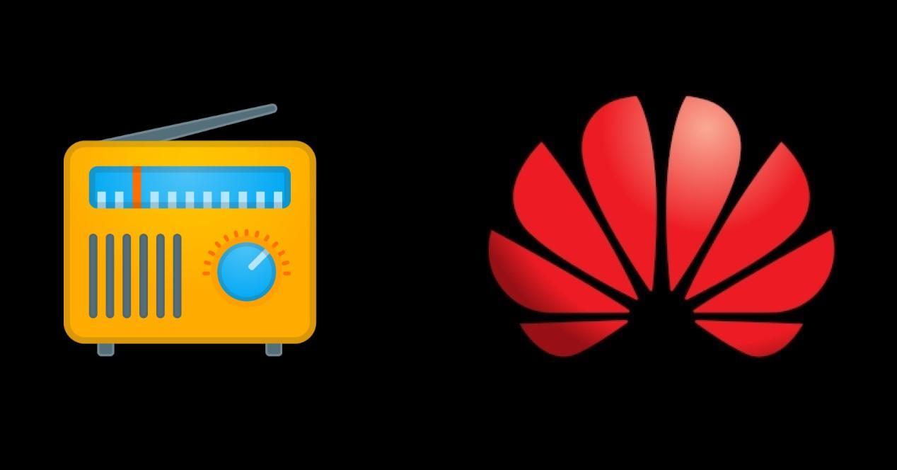 Logo Huawei y radio
