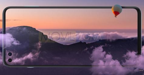 Motorola Edge S pantalla