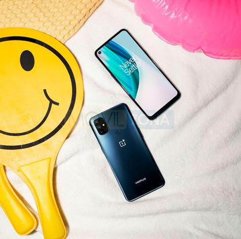 OnePlus Nord N10 5G diseño