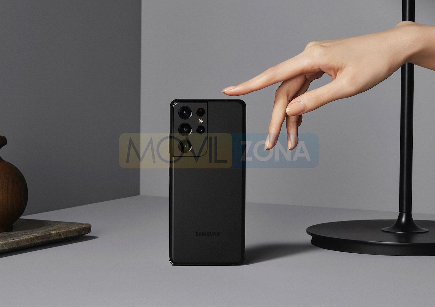 Samsung Galaxy S21 Ultra negro