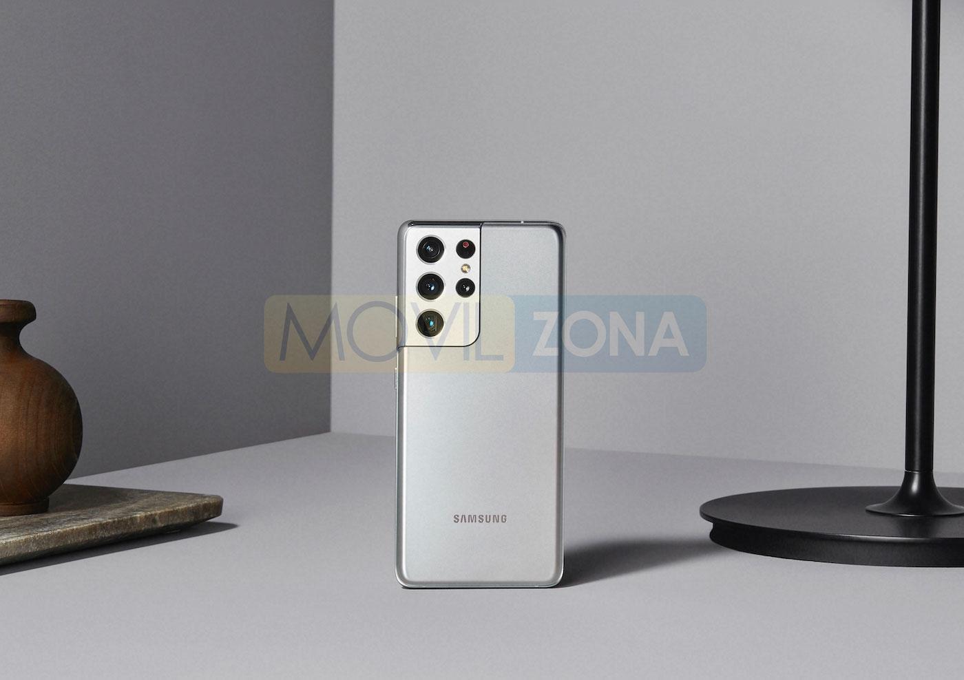 Samsung Galaxy S21 Ultra plata