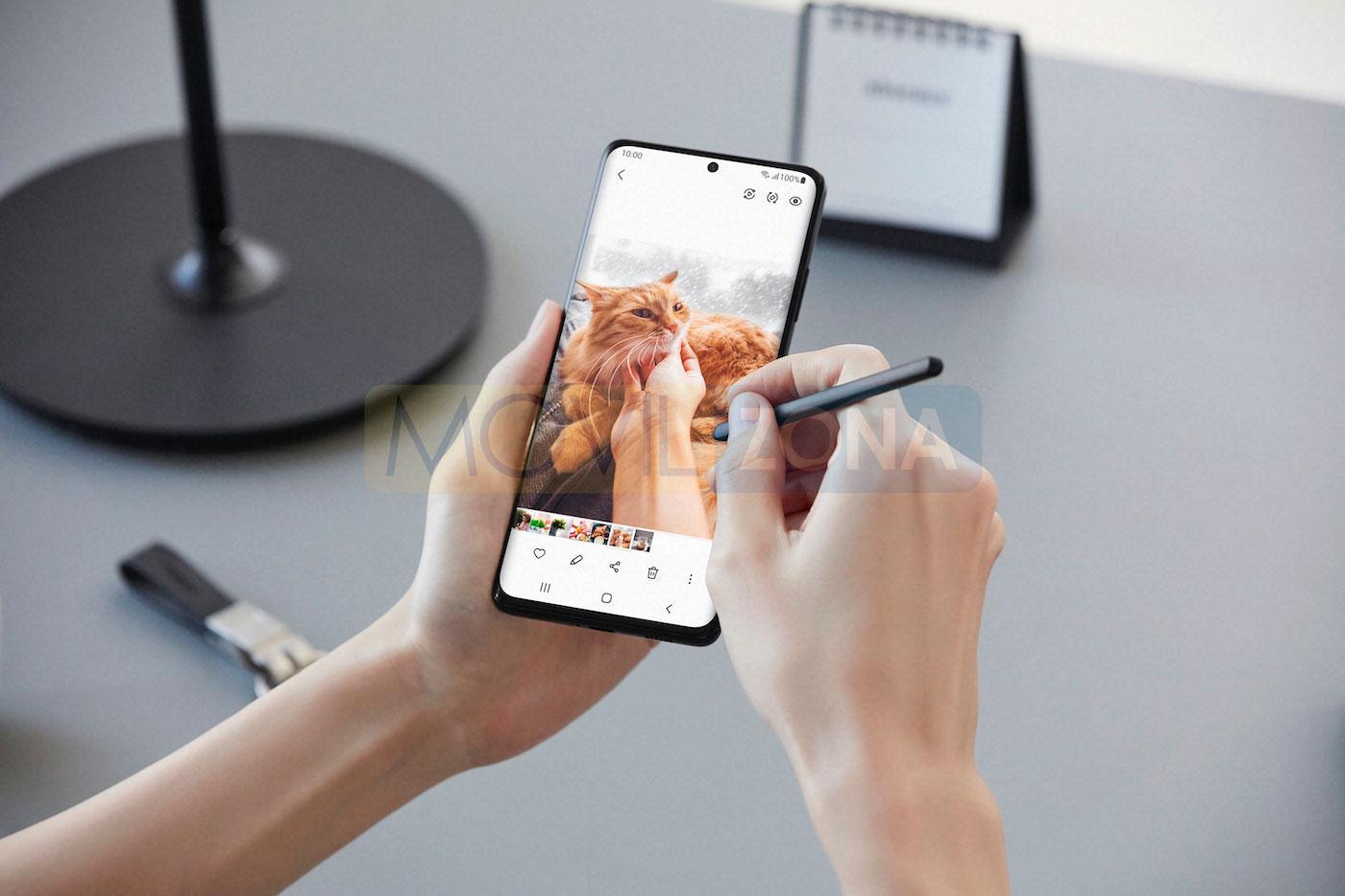 Samsung Galaxy S21 Ultra y s pen