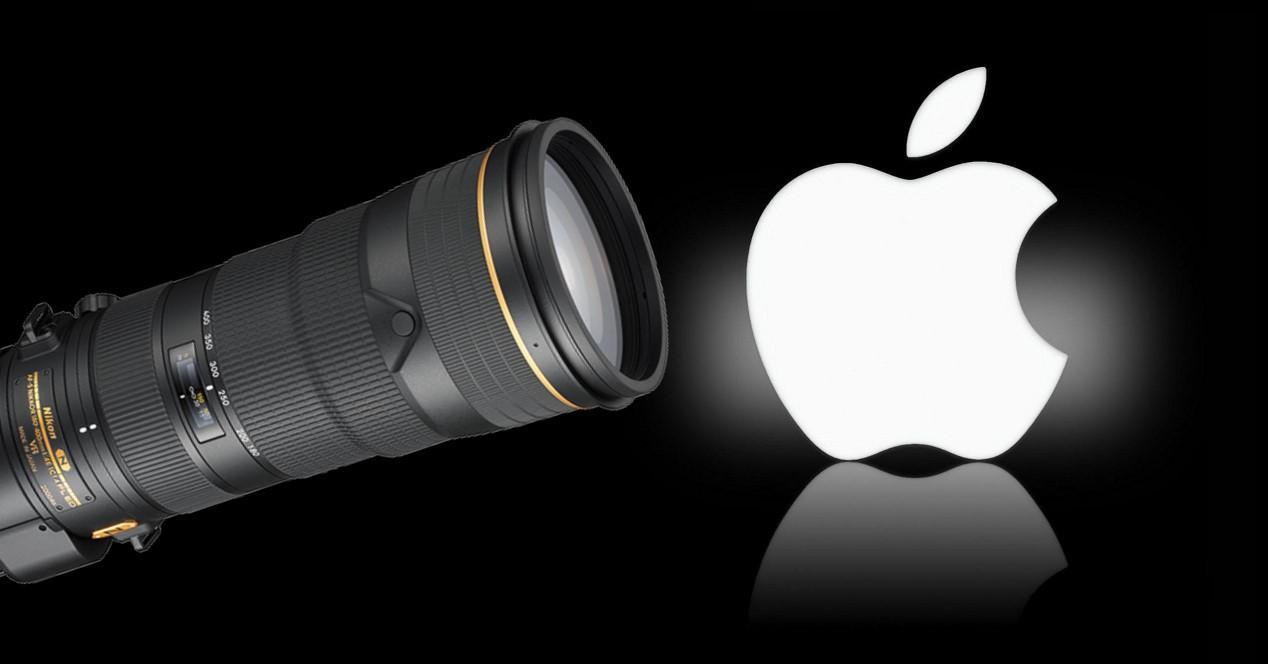 apple logo y zoom