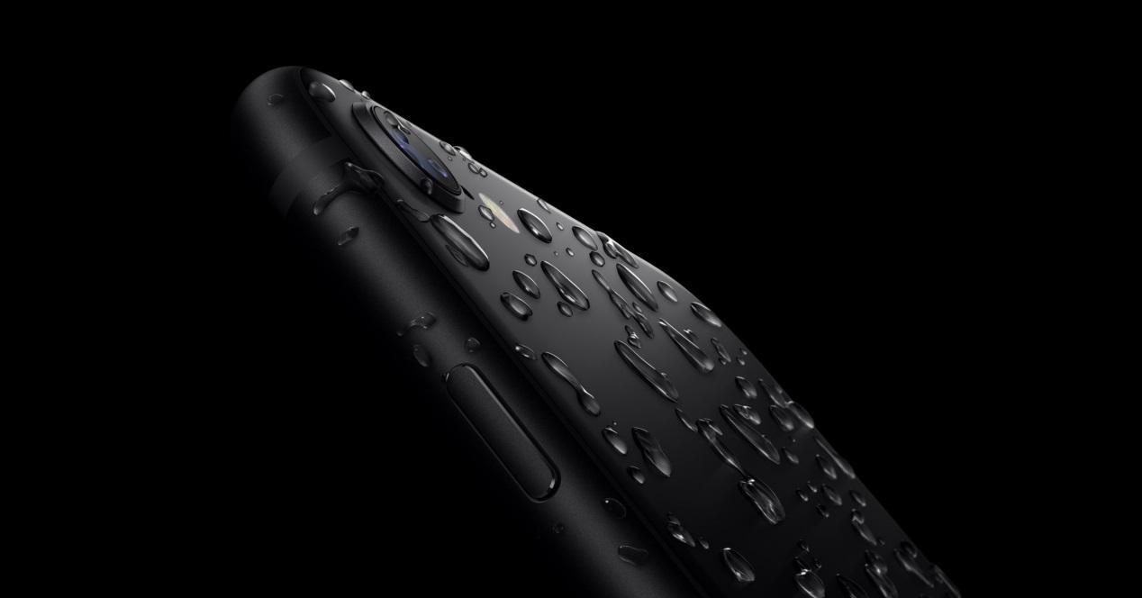 iphone se agua