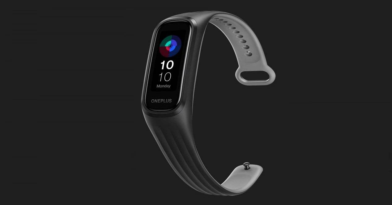 oneplus band gris