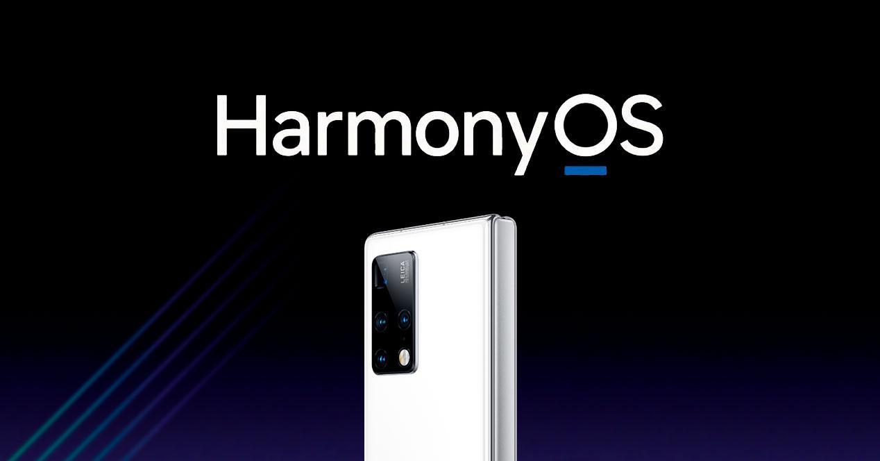 HarmonyOS Huawei Mate X2