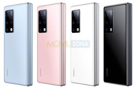 Huawei Mate X2 colores