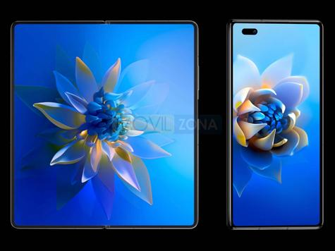 Huawei Mate X2 diseño