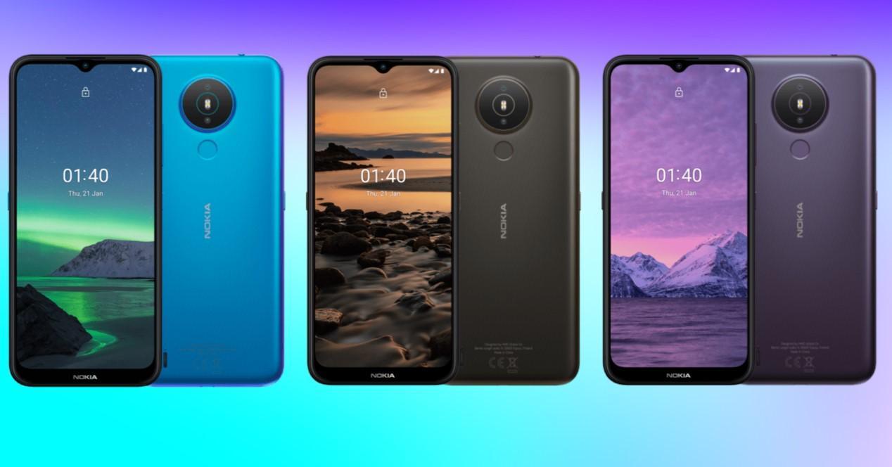 Nokia 1.4 colores