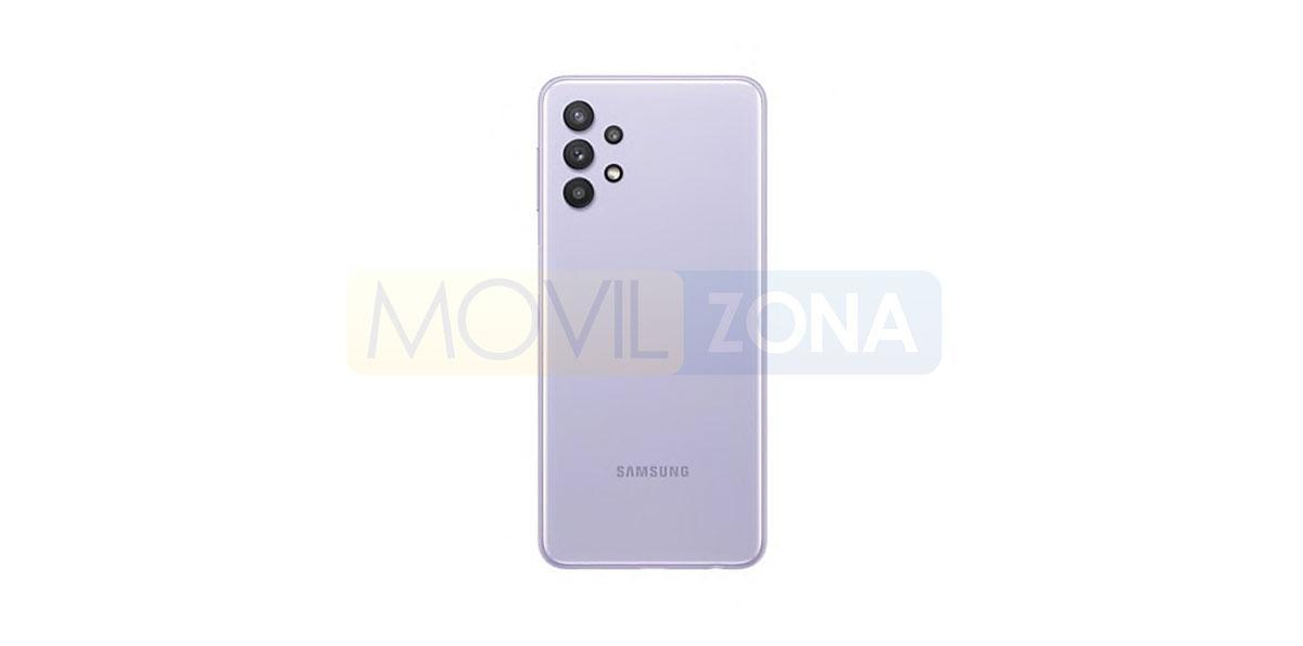 Samsung Galaxy A32 5G violeta