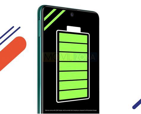 Samsung Galaxy F62 batería