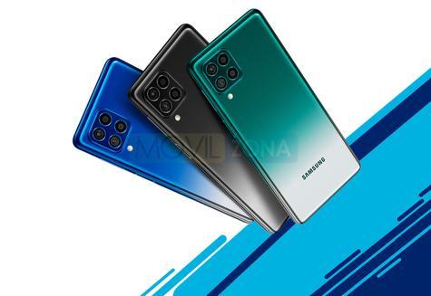 Samsung Galaxy F62 colores