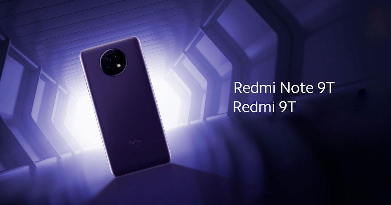 Redmi Note 9T y 9T