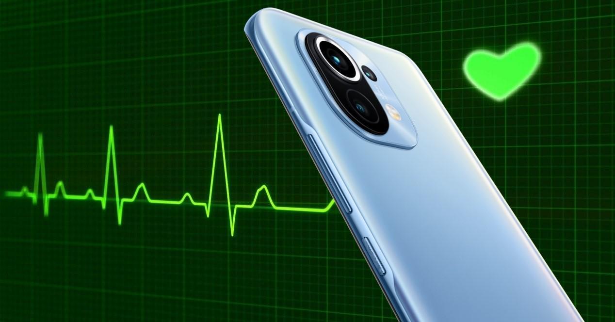 electrocardiograma y xiaomi mi 11