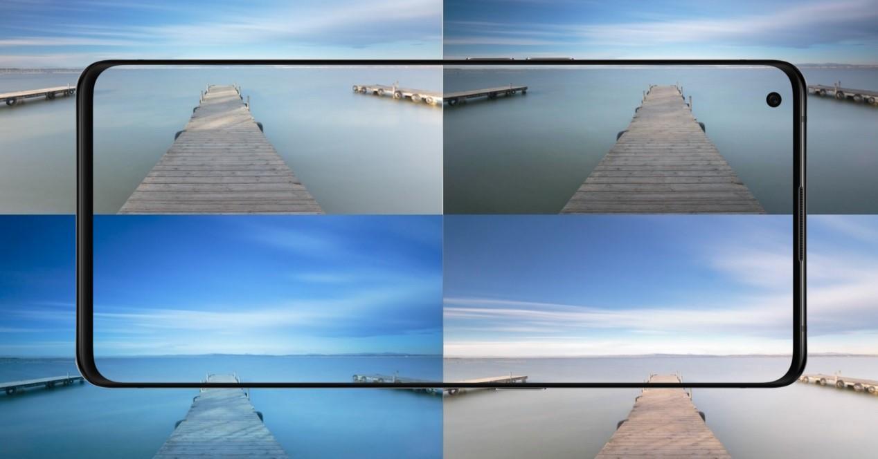 fotos y filtro con movil