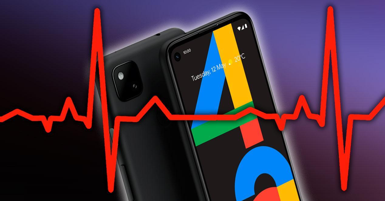 frecuencia cardiaca google pixel