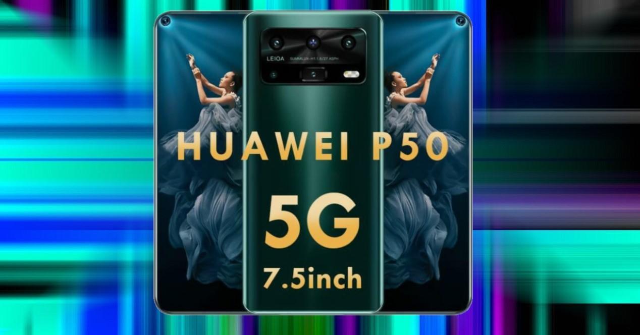 huawei p50 falso