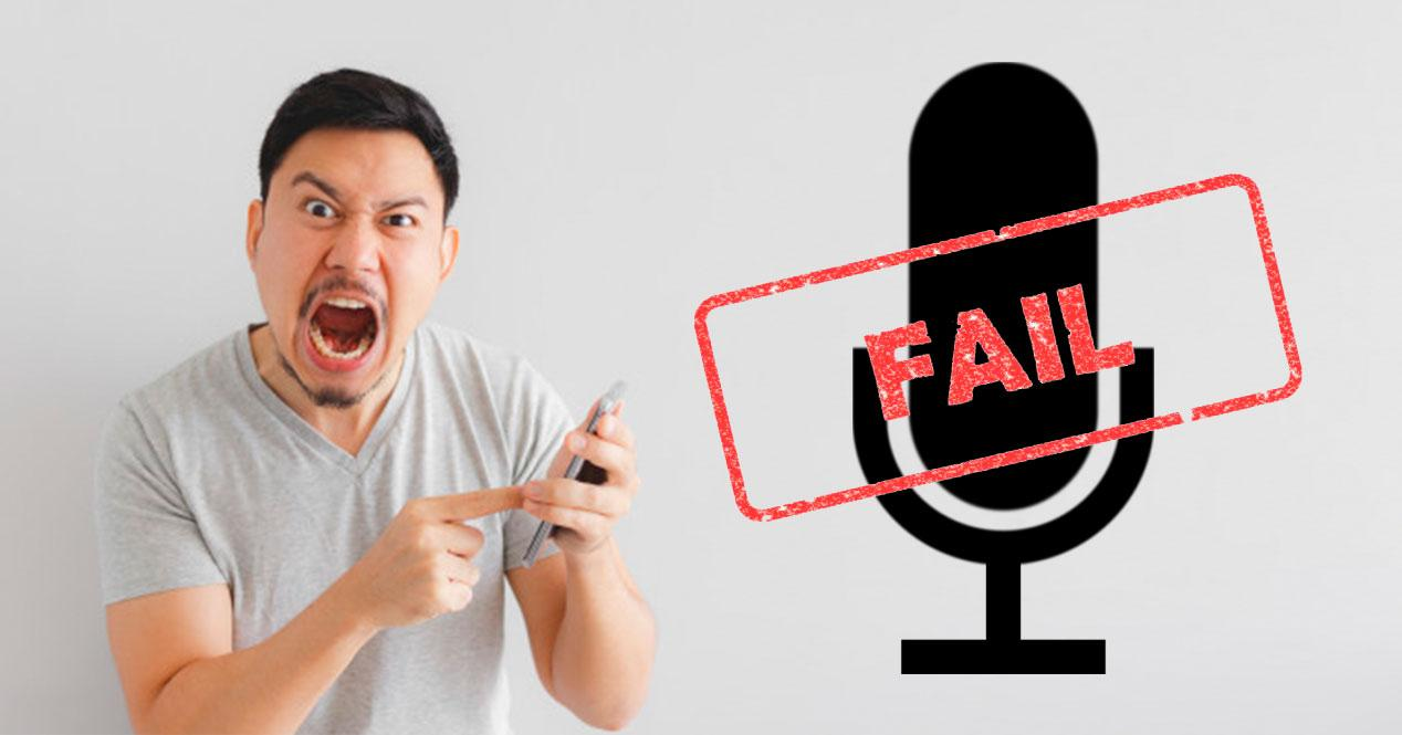 microfono no funciona