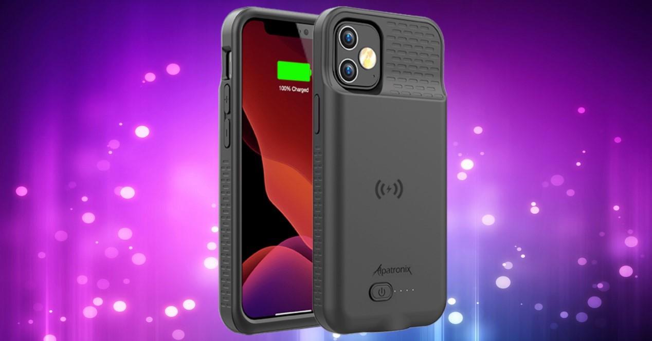 iphone 12 carcasa de batería