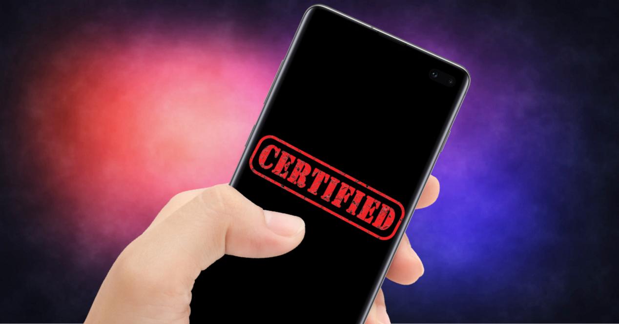 movil certificado