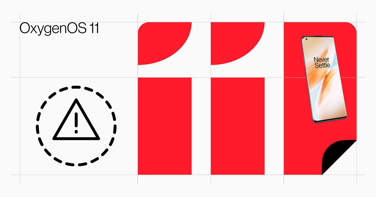 problema OnePlus oxygenos 11